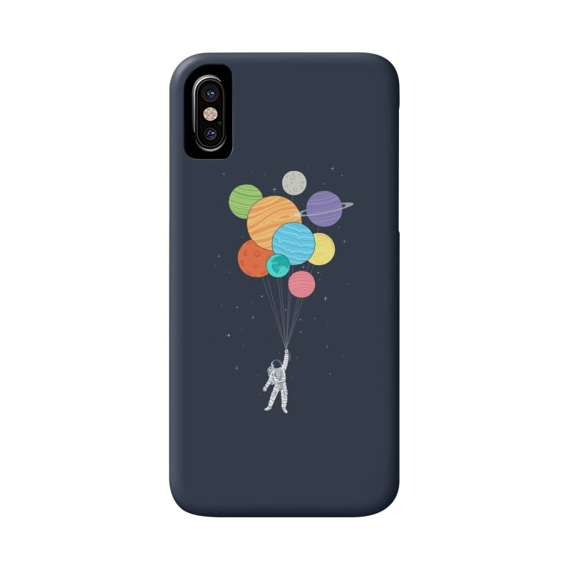 Planet Balloons Accessories Phone Case by ilovedoodle's Artist Shop