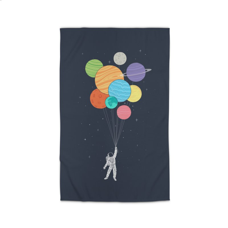 Planet Balloons Home Rug by ilovedoodle's Artist Shop