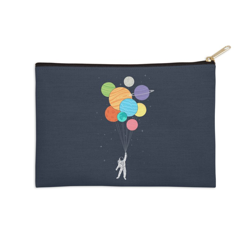 Planet Balloons Accessories Zip Pouch by ilovedoodle's Artist Shop
