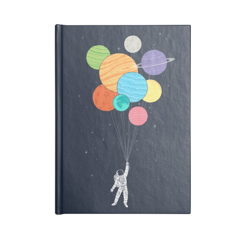 Planet Balloons Accessories Notebook by ilovedoodle's Artist Shop