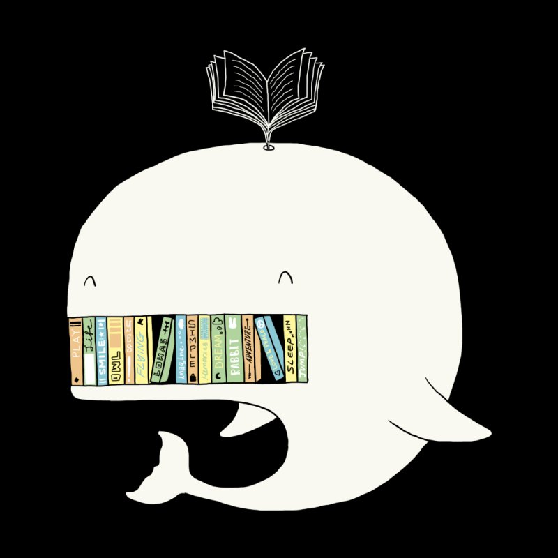 The Whaley Big Bookshelf by ilovedoodle's Artist Shop