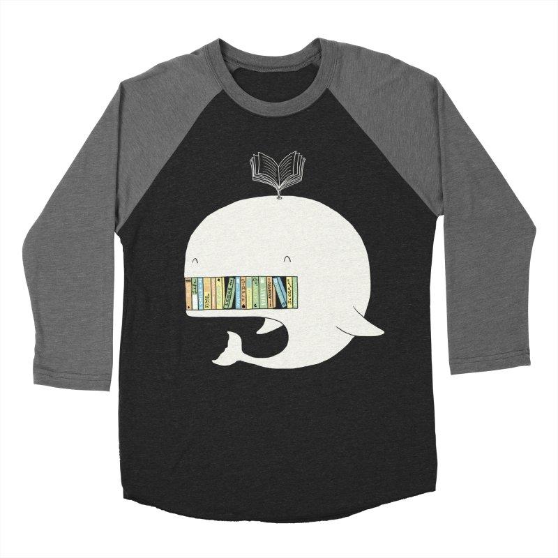 The Whaley Big Bookshelf Men's Baseball Triblend T-Shirt by ilovedoodle's Artist Shop