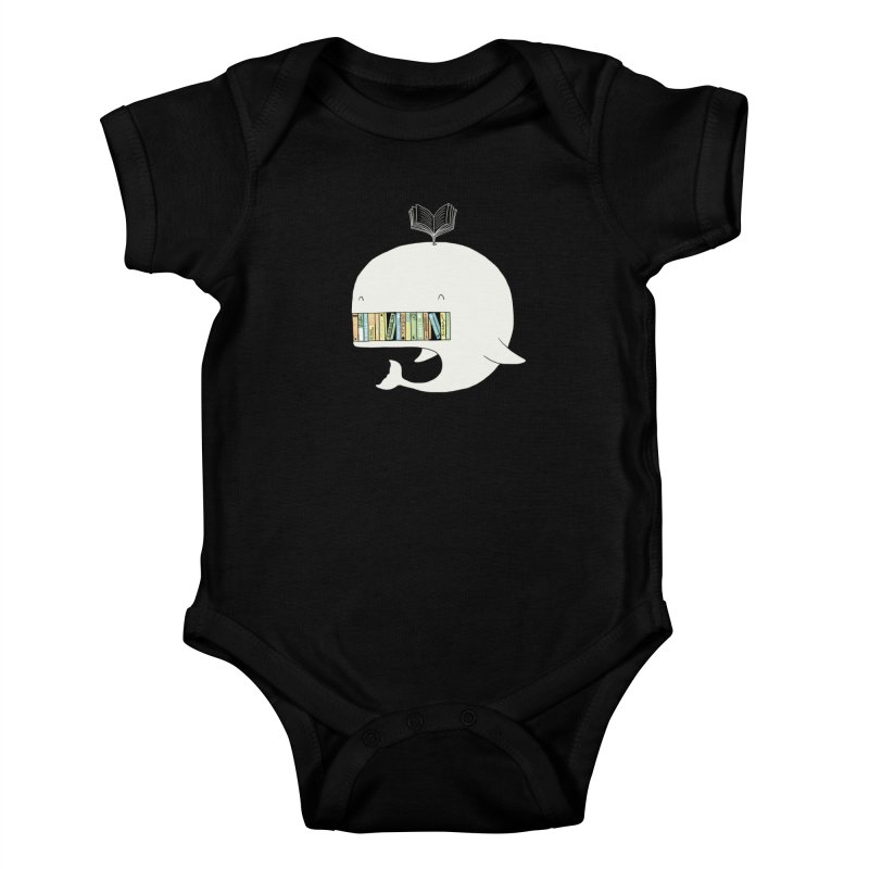 The Whaley Big Bookshelf Kids Baby Bodysuit by ilovedoodle's Artist Shop