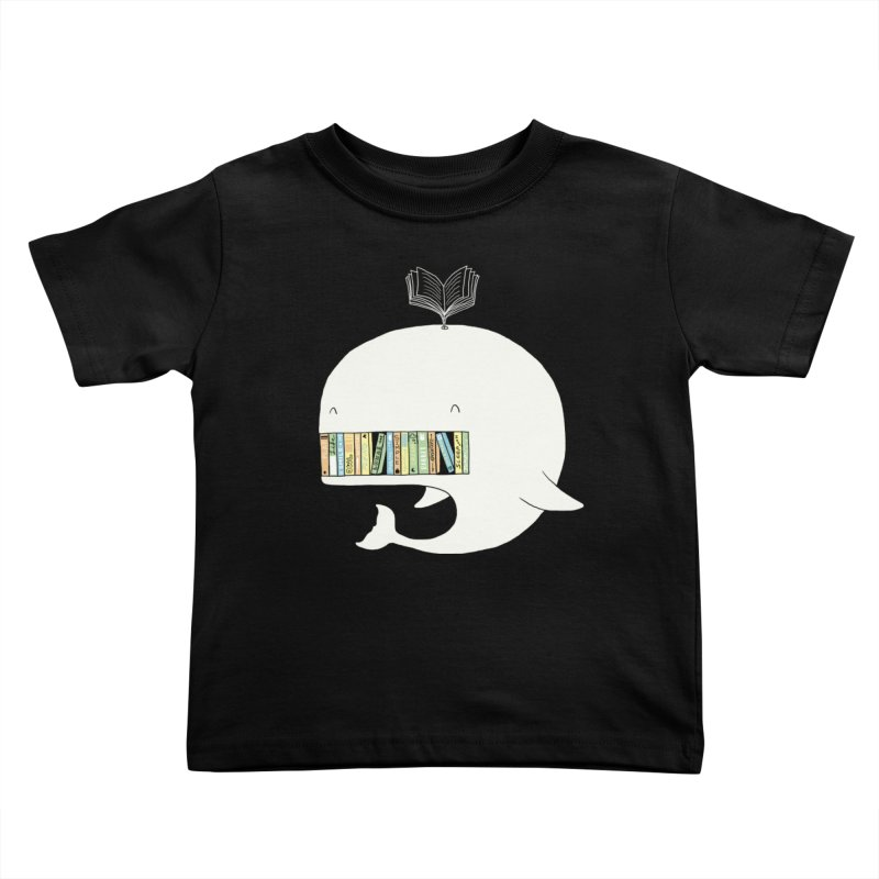 The Whaley Big Bookshelf Kids Toddler T-Shirt by ilovedoodle's Artist Shop