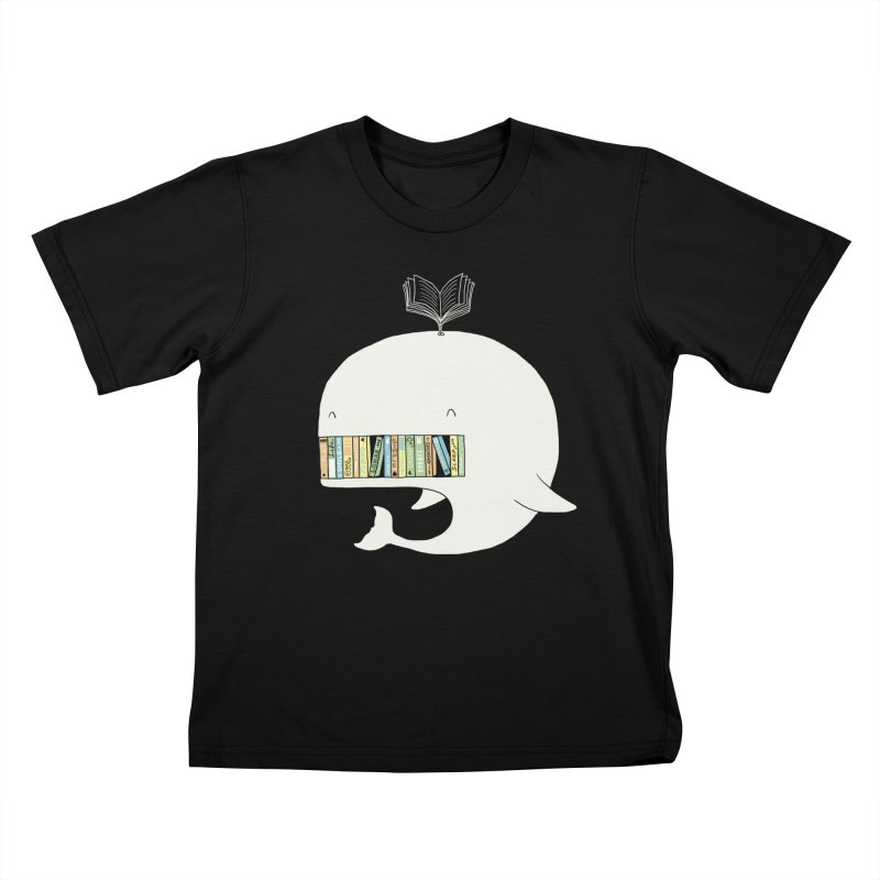 The Whaley Big Bookshelf Kids T-Shirt by ilovedoodle's Artist Shop