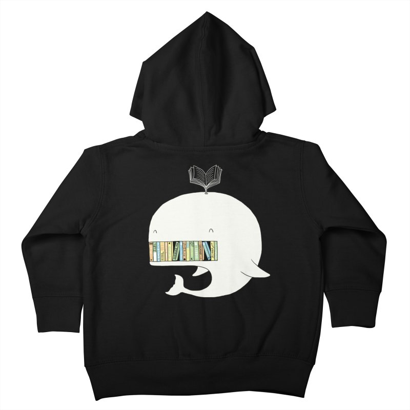 The Whaley Big Bookshelf Kids Toddler Zip-Up Hoody by ilovedoodle's Artist Shop