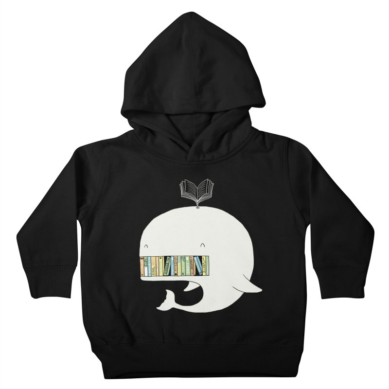The Whaley Big Bookshelf Kids Toddler Pullover Hoody by ilovedoodle's Artist Shop