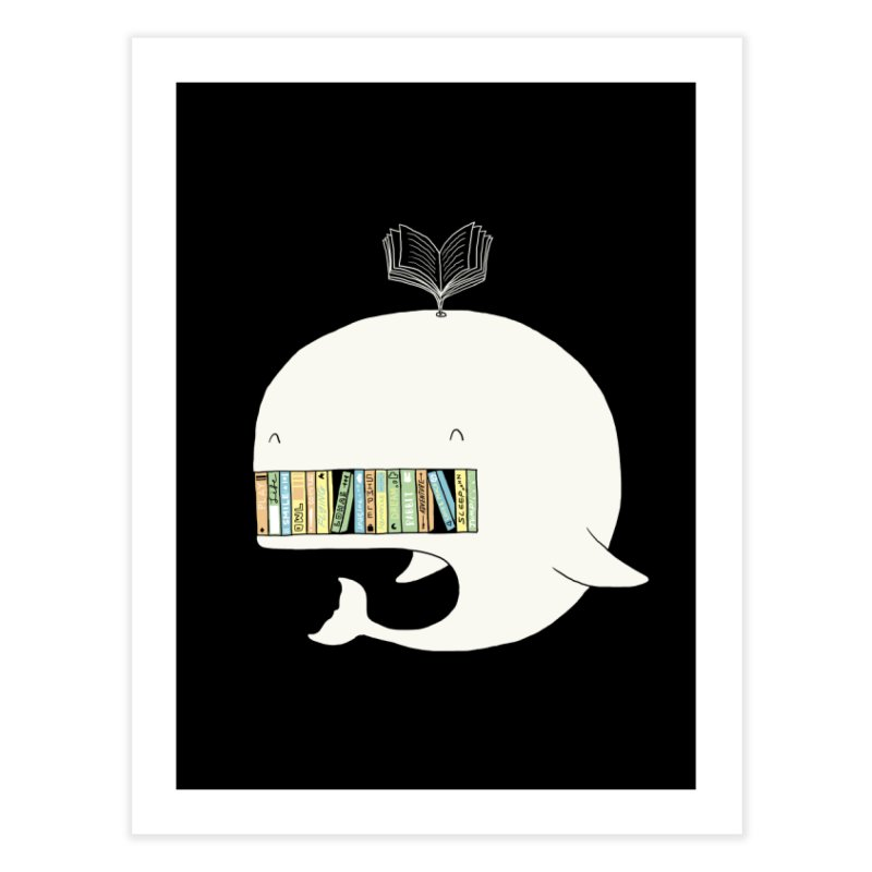 The Whaley Big Bookshelf Home Fine Art Print by ilovedoodle's Artist Shop