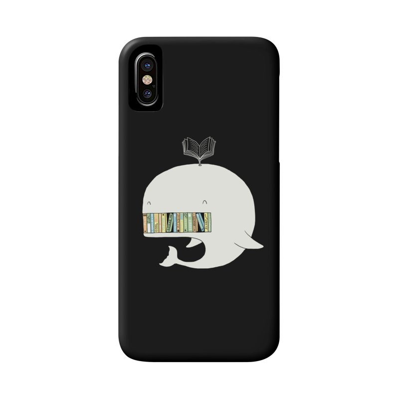 The Whaley Big Bookshelf Accessories Phone Case by ilovedoodle's Artist Shop