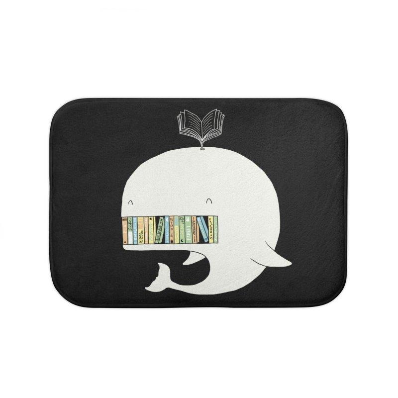 The Whaley Big Bookshelf Home Bath Mat by ilovedoodle's Artist Shop