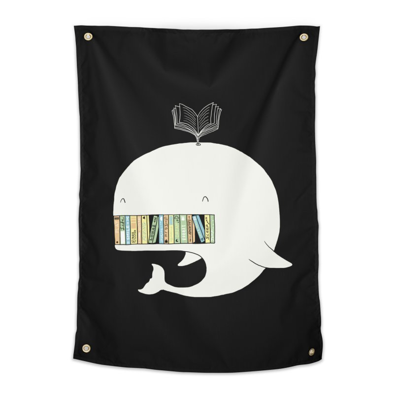 The Whaley Big Bookshelf Home Tapestry by ilovedoodle's Artist Shop