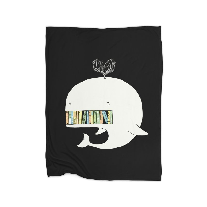 The Whaley Big Bookshelf Home Blanket by ilovedoodle's Artist Shop