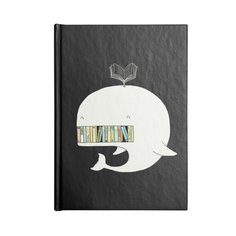 The Whaley Big Bookshelf Accessories Notebook by ilovedoodle's Artist Shop