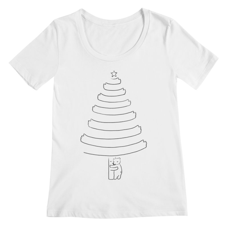 Season of hugs Women's Scoopneck by ilovedoodle's Artist Shop