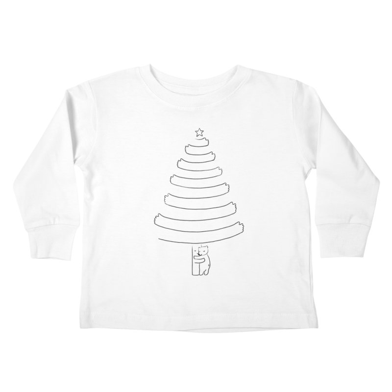 Season of hugs Kids Toddler Longsleeve T-Shirt by ilovedoodle's Artist Shop