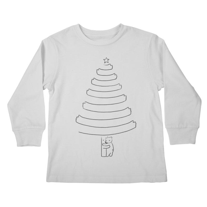 Season of hugs Kids Longsleeve T-Shirt by ilovedoodle's Artist Shop