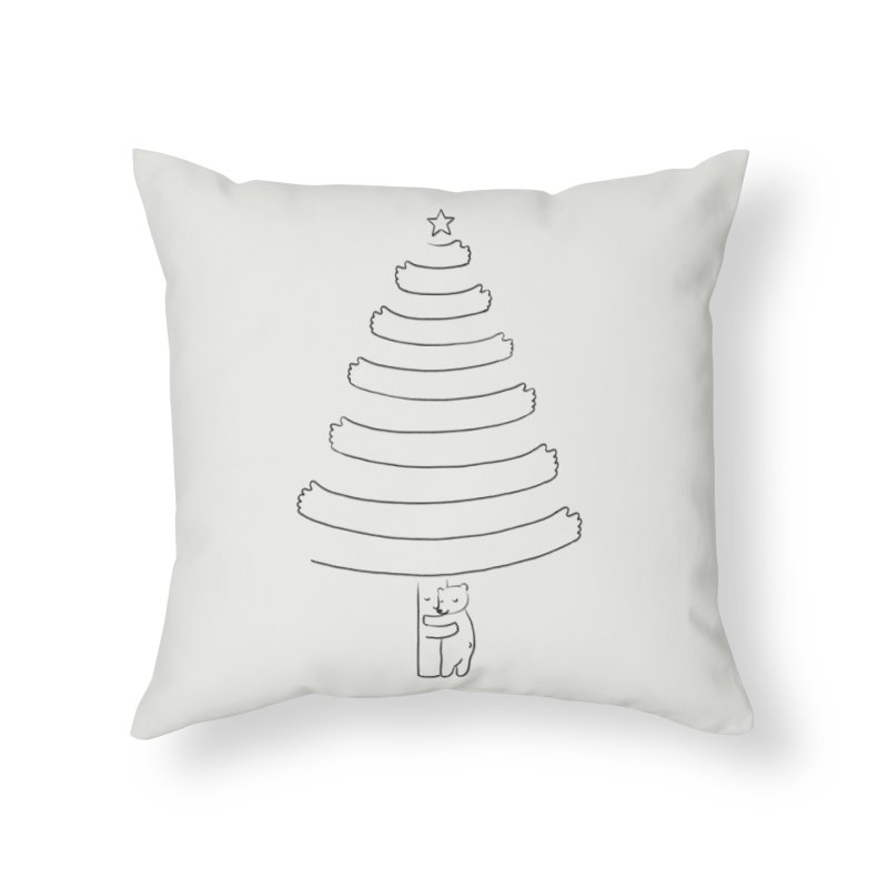 Season of hugs Home Throw Pillow by ilovedoodle's Artist Shop