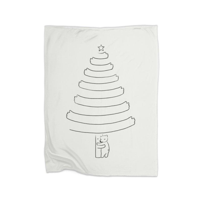 Season of hugs Home Fleece Blanket by ilovedoodle's Artist Shop