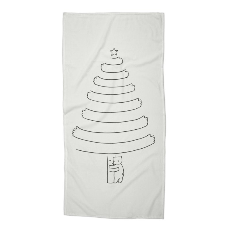 Season of hugs Accessories Beach Towel by ilovedoodle's Artist Shop