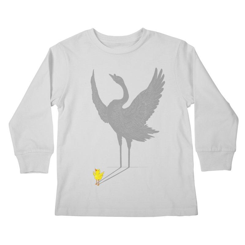 Someday Kids Longsleeve T-Shirt by ilovedoodle's Artist Shop