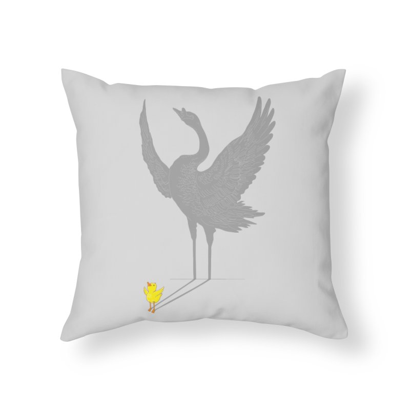 Someday Home Throw Pillow by ilovedoodle's Artist Shop