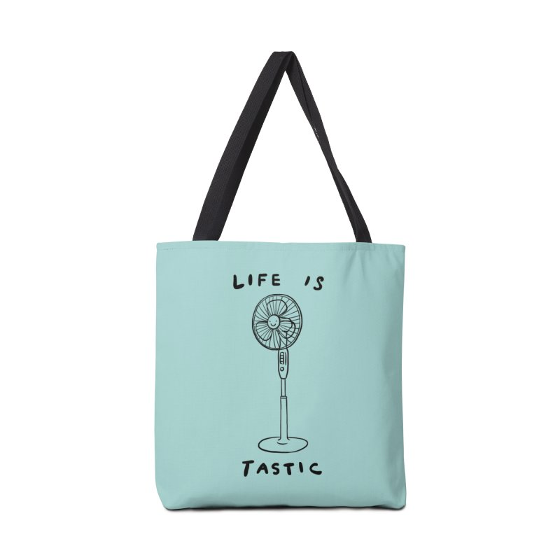 Life is Fantastic Accessories Bag by ilovedoodle's Artist Shop