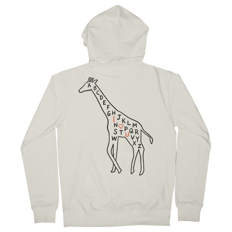 I love you as high as I can reach Women's Zip-Up Hoody by ilovedoodle's Artist Shop