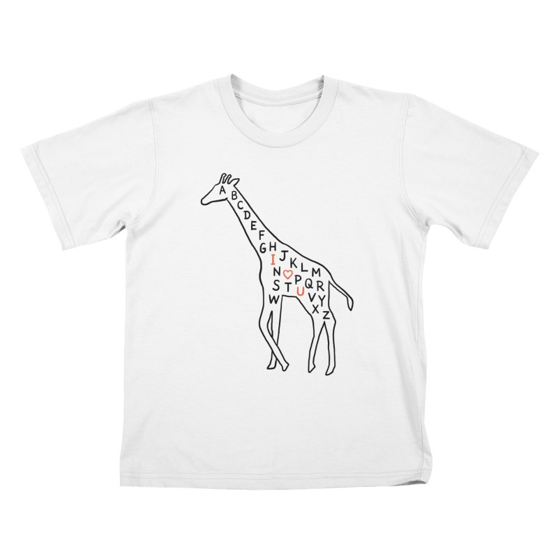 I love you as high as I can reach Kids T-Shirt by ilovedoodle's Artist Shop