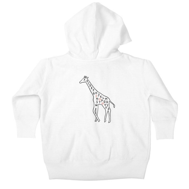 I love you as high as I can reach Kids Baby Zip-Up Hoody by ilovedoodle's Artist Shop