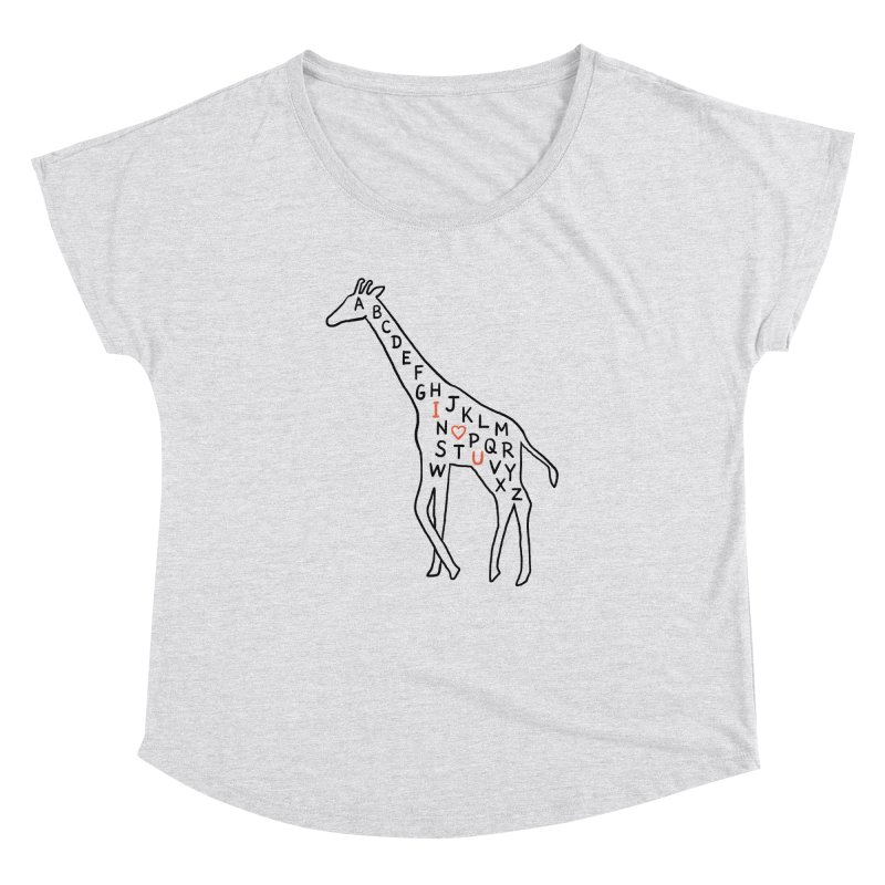 I love you as high as I can reach Women's Dolman by ilovedoodle's Artist Shop