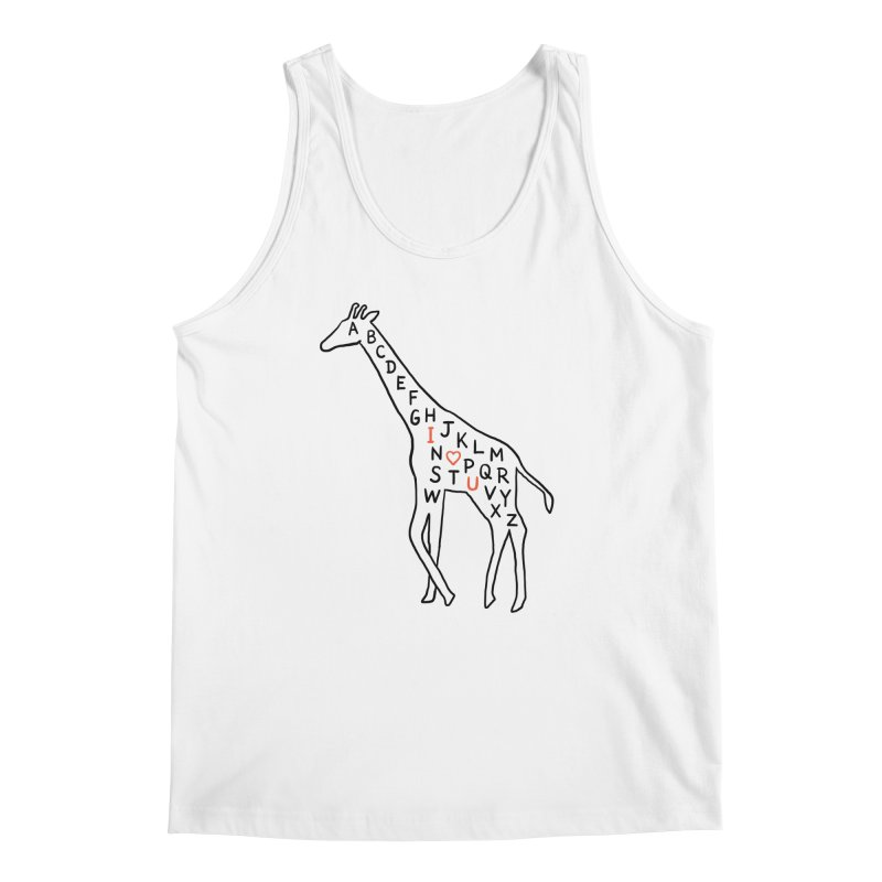 I love you as high as I can reach Men's Tank by ilovedoodle's Artist Shop