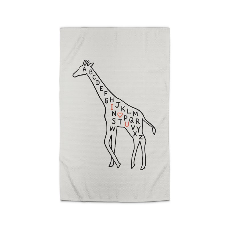 I love you as high as I can reach Home Rug by ilovedoodle's Artist Shop