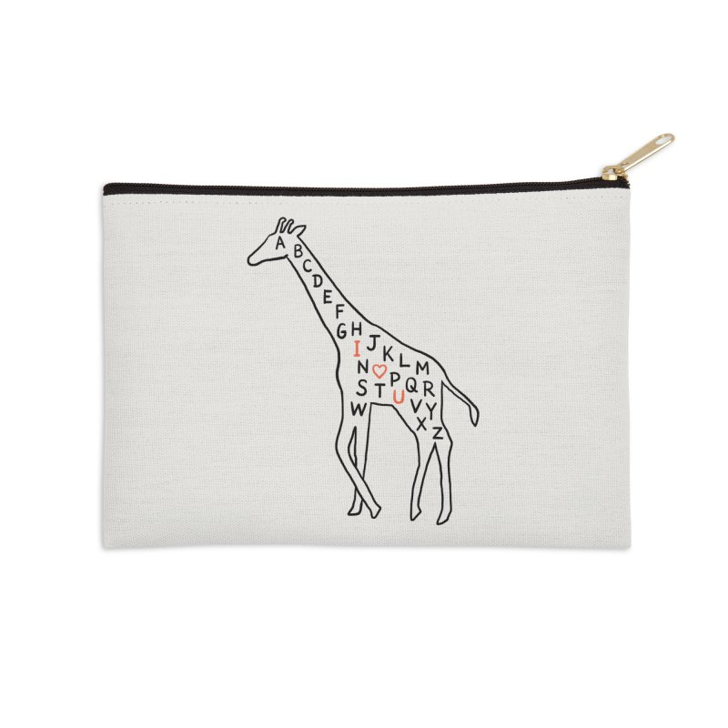 I love you as high as I can reach Accessories Zip Pouch by ilovedoodle's Artist Shop