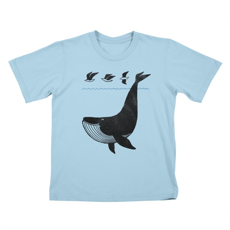 Oh Whale, I'm like a bird Kids T-Shirt by ilovedoodle's Artist Shop