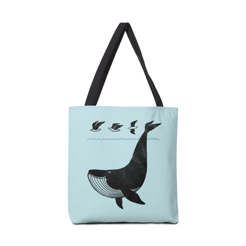 Oh Whale, I'm like a bird Accessories Bag by ilovedoodle's Artist Shop