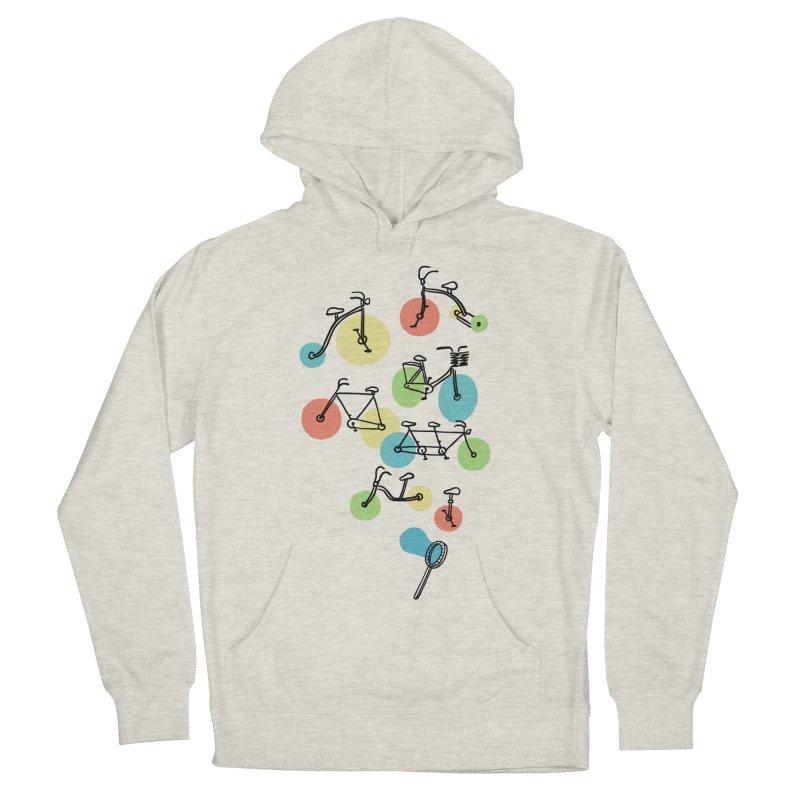 Bubble Riding Men's Pullover Hoody by ilovedoodle's Artist Shop