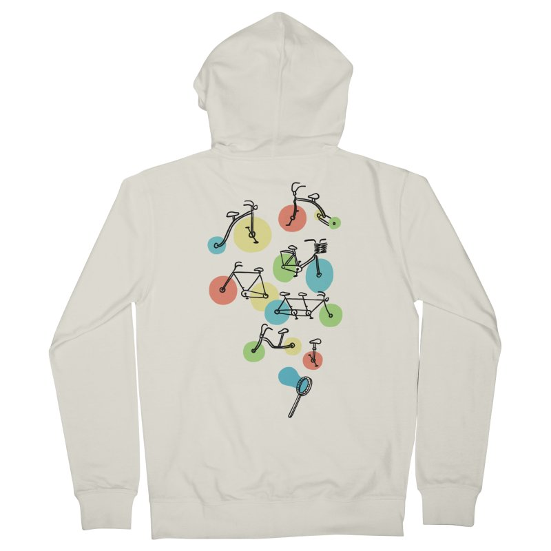 Bubble Riding Men's Zip-Up Hoody by ilovedoodle's Artist Shop