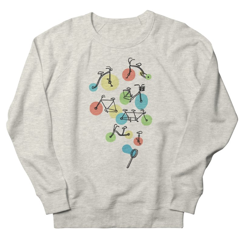 Bubble Riding Women's Sweatshirt by ilovedoodle's Artist Shop