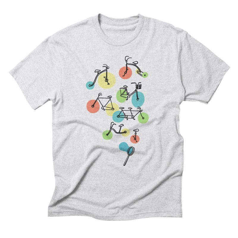 Bubble Riding Men's Triblend T-Shirt by ilovedoodle's Artist Shop