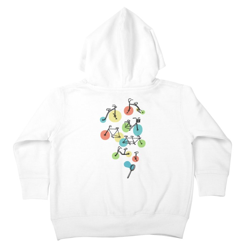 Bubble Riding Kids Toddler Zip-Up Hoody by ilovedoodle's Artist Shop