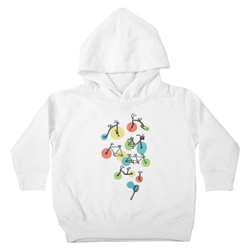 Bubble Riding Kids Toddler Pullover Hoody by ilovedoodle's Artist Shop