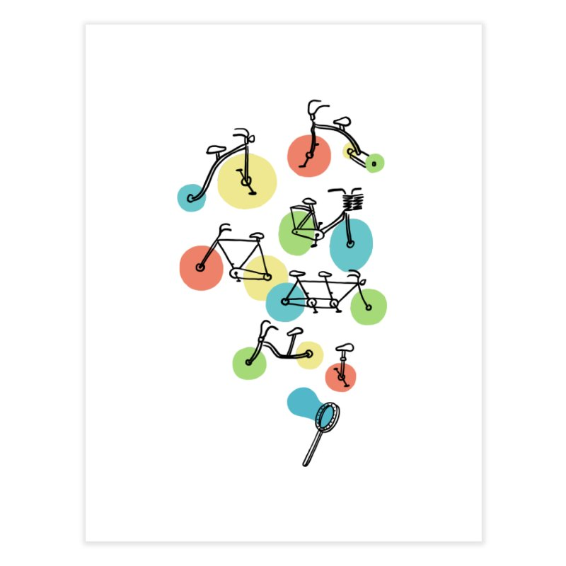 Bubble Riding Home Fine Art Print by ilovedoodle's Artist Shop