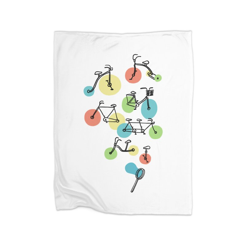 Bubble Riding Home Blanket by ilovedoodle's Artist Shop