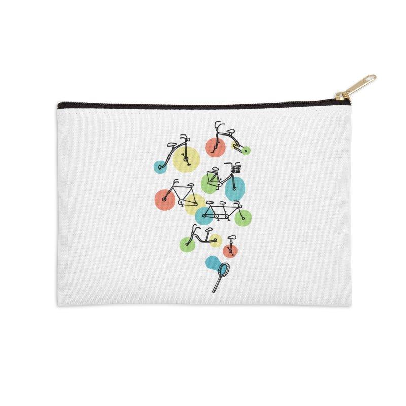 Bubble Riding Accessories Zip Pouch by ilovedoodle's Artist Shop