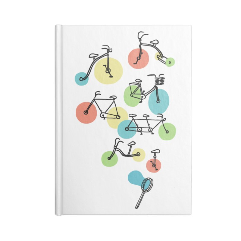 Bubble Riding Accessories Notebook by ilovedoodle's Artist Shop