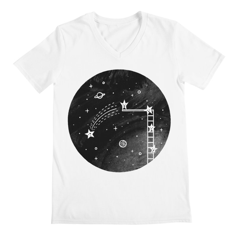 Make a wish Men's V-Neck by ilovedoodle's Artist Shop