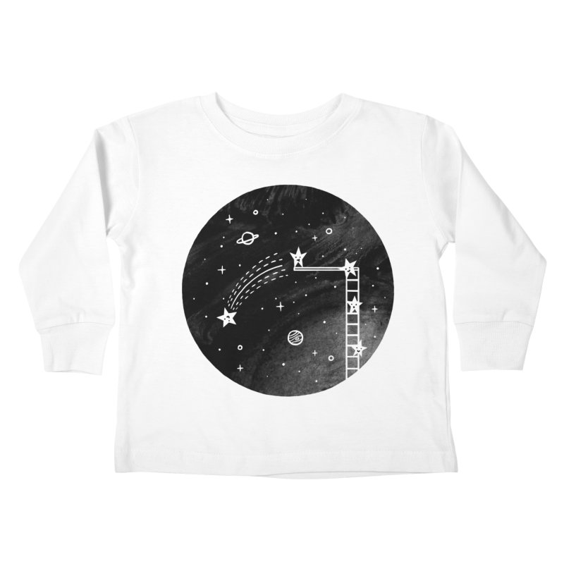 Make a wish Kids Toddler Longsleeve T-Shirt by ilovedoodle's Artist Shop