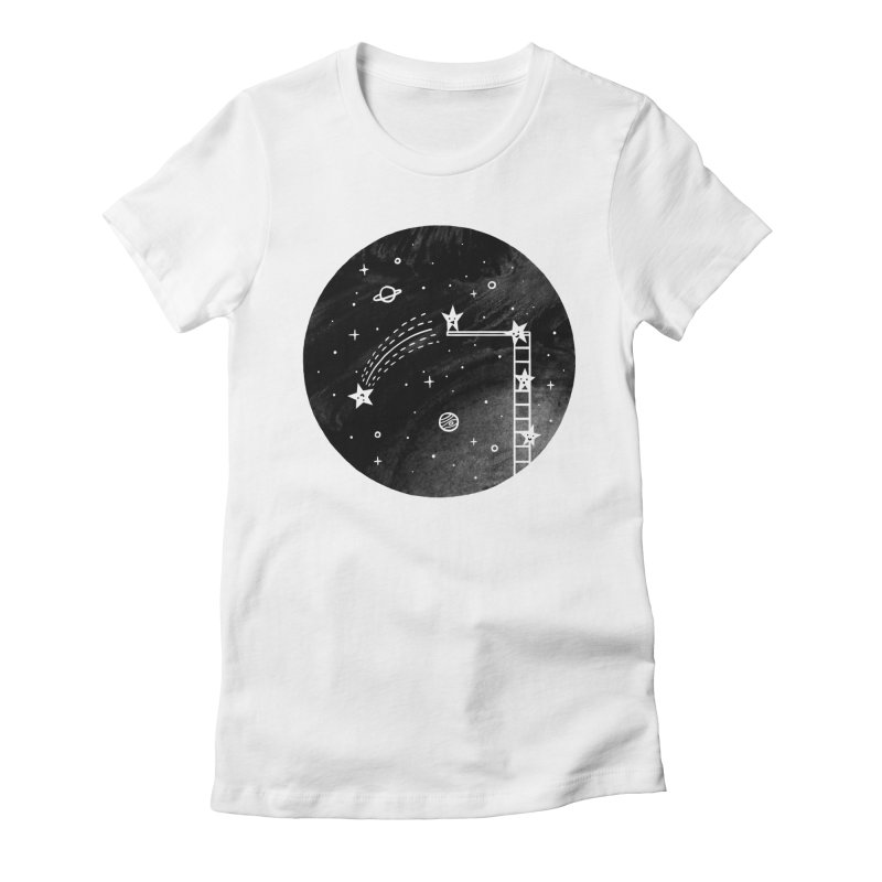 Make a wish Women's Fitted T-Shirt by ilovedoodle's Artist Shop