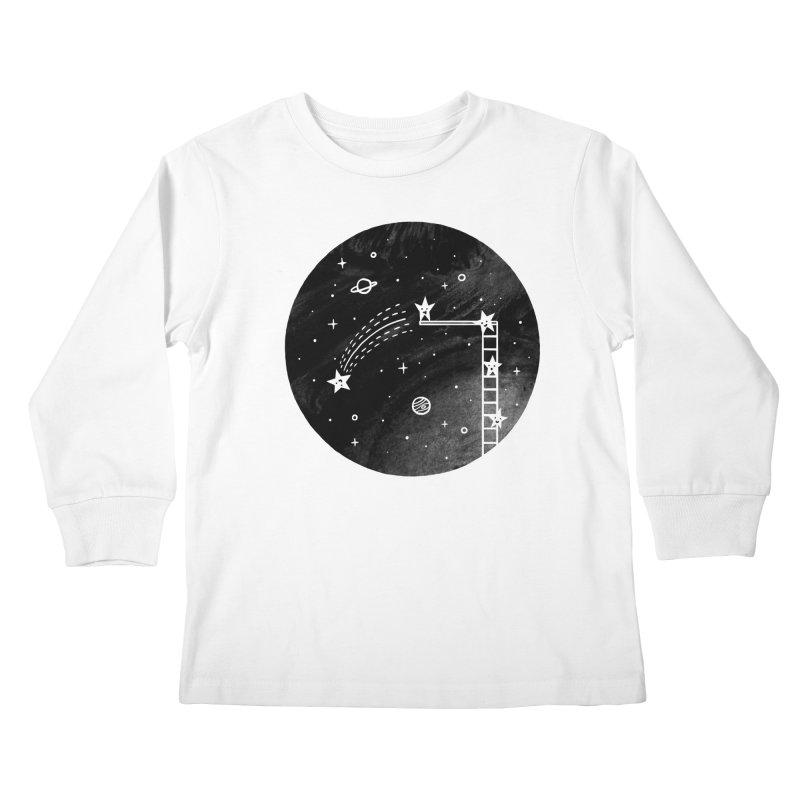 Make a wish Kids Longsleeve T-Shirt by ilovedoodle's Artist Shop