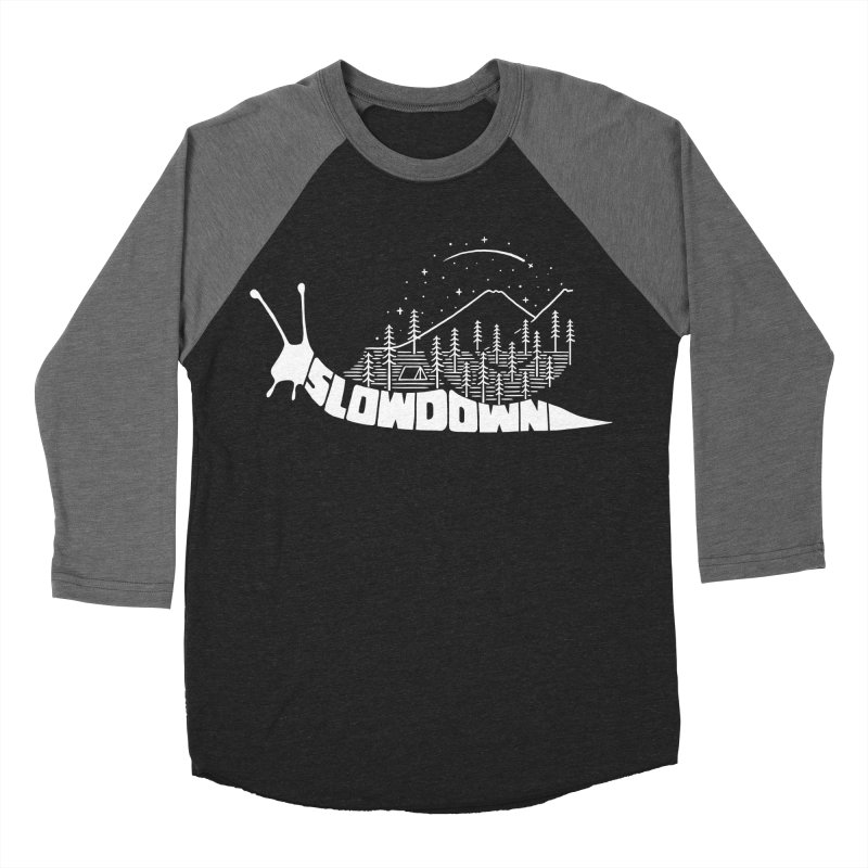 Slow down Women's Baseball Triblend Longsleeve T-Shirt by ilovedoodle's Artist Shop
